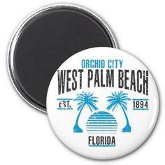 #West Palm Beach Magnet - #beach #travel #beachlife