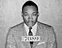 On October 19, 1960, Dr. Martin Luther King, Jr. and 51 others were arrested in Atlanta, Georgia, after refusing to leave their seats at downtown department store lunch counters. The Jim Crow segregation laws and customs heavily in force in Atlanta at the time dictated that black and white people use separate water fountains, bathrooms, ticket booths, and other public spaces, and banned black people from being served at store lunch counters.