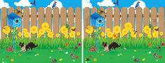 www.eyecanlearn.com - stránky věnované problematice překonávání potíží se zrakovým vnímáním Visual Perception Activities, Fence, Literacy, Challenge, Language, Learning, Children, School, Garden