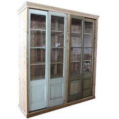 oude houten kast van oude bouwmaterialen - Makeithome.nl