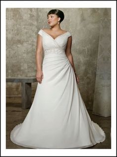 Big Bust Wedding Dress