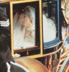 July 29, 1981:  Lady Diana Spencer marries Prince Charles at St. Paul's Cathedral in London.Lady Diana arrives at St. Paul's Cathedral where her Prince awaits.