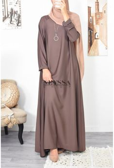 beautiful flared abaya in nidah are at neyssa shop, abaya in the middle east abaya arabic fashion fast delivery neat receive your abaya in no time Modest Outfits Muslim, Modest Fashion Hijab, Street Hijab Fashion, Muslim Dress, Abaya Fashion, Fashion Outfits, Muslim Women Fashion, Islamic Fashion, Hijab Fashion Inspiration