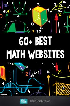 The Best Websites for Teaching and Learning Math. Whether you teach first grade or tenth grade we have pulled together a wonderful list of math websites that fellow teachers have all recommend to be used in the classroom. Many are full of freebies, resour Teaching First Grade, 5th Grade Math, Teaching Math, Teaching Geometry, Teaching Ideas, Amazing Websites, Cool Websites, Math Websites For Kids, Learning Websites