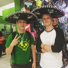Sombrero boys in Mexico last weekend. #mexicocity #sombrero #tourists