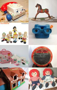 TOYS IN THE ATTIC  by Terese USA Eastern Time Zone on Etsy--Pinned with…