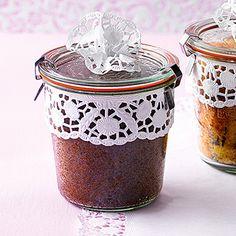 Nusskuchen im Glas Rezept | Küchengötter