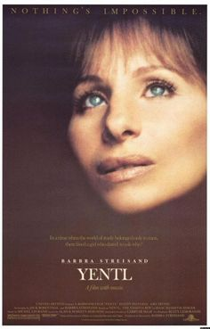 YENTL - Beautiful movie featuring Barbra Streisand in the leading role!!! #cinema #movie