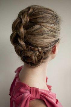 Easy Breezy Bridal Updos Wedding Hair Inspiration 1