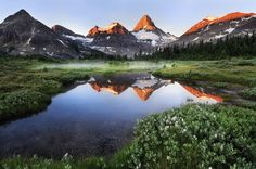 Mount Assiniboine Sunrise Photo and caption by Victor Liu Magazine - Mount Assiniboine Provincial Park, British Columbia, Canada Landscape Photography, Nature Photography, Scenic Photography, Photography Tips, Inspiring Photography, Contemporary Photography, Hd Nature Wallpapers, Mountain Landscape, Beautiful Places To Visit