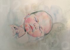 Mercedes Cros - Artista visual Painting, Water Colors, Portraits, Graphite, Human Body, Faces, Art, Painting Art, Paintings