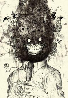 Un univers de dessins hypnotiques et surréalistes