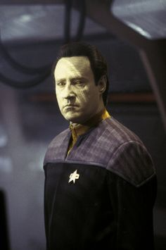 """Brent Spiner as Data in """"Star Trek: Nemesis"""" - This is a repin test for my Test Board"""