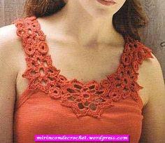 Una simple pero hermosa idea!!!! | Mi Rincon de Crochet