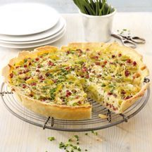 Leek and cheese quiche with ham recipe WW Germany - Leek and cheese quiche with ham Recipes Weight watchers - Weight Watchers Breakfast, Weight Watchers Meals, Brunch, Ham Recipes, Cooking Recipes, Quiche Recipes, Weith Watchers, Healthy Snacks, Healthy Recipes