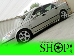 This SAAB just got a FULL Auto Detail, and looks AMAZING!!! Call now for YOURS!
