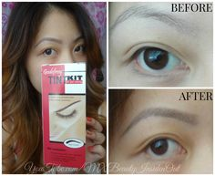 How To (DIY): EYEBROW TINTING