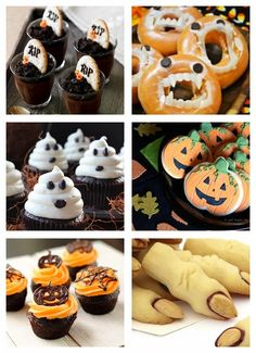 Recortes Decorados Doughnut, Cupcakes, Snacks, Halloween, Desserts, Food, Cut Outs, Furniture, Tailgate Desserts