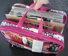 perfecto smash travel kit.. ps.. you can buy this at walgreens :) Would be great for office in a bag or art journaling