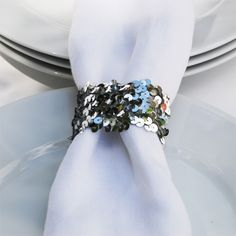 Sequin Napkin Rings