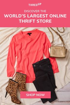Get up to 90% off brands like Madewell, Free People, Anthropologie, ASOS and more! Sign up to access 35,000 brands. Winter Fashion Outfits, Fall Outfits, Autumn Fashion, Fashion Dresses, Fashion Tips, Nice Clothes, Casual Clothes, Clothes For Women, Thrift Store Shopping