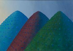 Kristian Krokfors: Andalucia, 1995, öljy kankaalle, 58x82,5 cm - Bukowskis F179