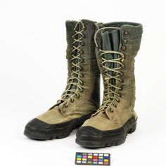 Boots, Tropical Jungle: British Army