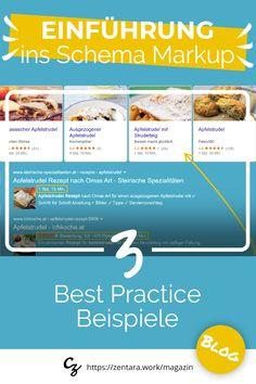 Einführung ins Schema Markup: 3 Best Practice Beispiele