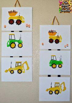 Tractor feet & sponges