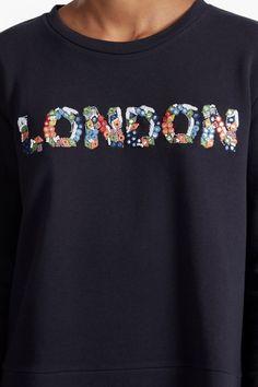 Toyen London Embellished Sweatshirt | New Arrivals | French Connection Usa