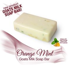 Fresh and fruity at the same time! With orange peels, orange essential oil, and freshly picked mint leaves, this soap is a win for fruity and mint lovers! Diy Soap Recipe Without Lye, Homemade Soap Recipes, Sugar Scrub Diy, Sugar Scrubs, Peppermint Plants, Making Essential Oils, Goat Milk Soap, Home Made Soap, Bar Soap