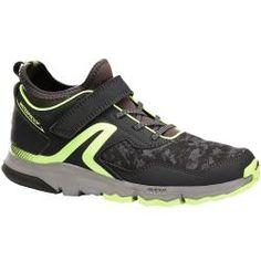 85579ad8c9927 Chaussures marche nordique enfant NW 580 gris/ vert Chaussures de marche  sportive automne-hiver
