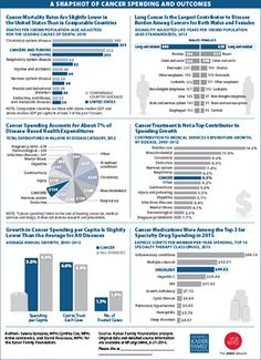 Visualizing Health Policy: A Snapshot of Cancer Spending and Outcomes