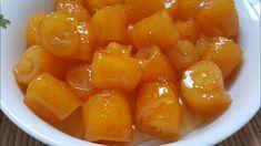 How to make orange peel jam - Food: Veggie tables Jam Recipes, Canning Recipes, Greek Recipes, Fruits Decoration, Albanian Recipes, How To Make Orange, Marmalade Recipe, Greek Desserts, Curd Recipe