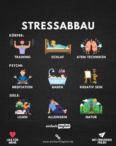 Stress Less, Mind Tricks, Healthy Lifestyle Tips, Sport Motivation, Health Education, Stress Management, Good Advice, Better Life, Self Improvement
