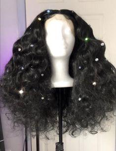 Black Curly Disco Wig ❤❤