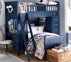 Camp Twin Bunk System & Twin Bed Set | Pottery Barn Kids