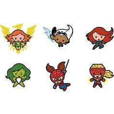 kawaii superheroes - Google Search