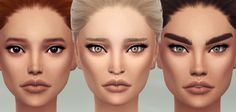 Brilliant Skin at S4 Models via Sims 4 Updates