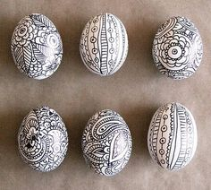 Sharpie & Eggs = Art