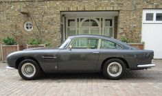 1963 Aston Martin DB5 Coupe.  Makes me purr...