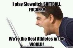 slowpitch softbal lol