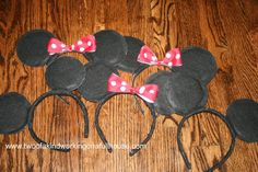 How To Make Your Own Mickey Mouse Ears For Disney World