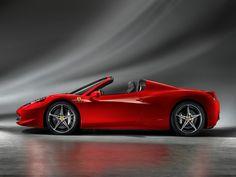 La Ferrari 458 Spider...che bella....