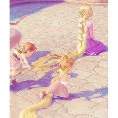 tangled Tangled Up in You <3 ❤ liked on Polyvore featuring disney, tangled, rapunzel and princess