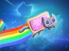 Pop tart nion cat