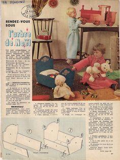 MOBILIER POUPEE BERCEAU FEMMES d'AUJOURD'HUI novembre 1962 | Jouets et jeux, Poupées, vêtements, access., Autres | eBay!