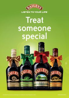 Different tastes for everybody! Baileys Irish Cream, Your Lips, Listening To You, Whiskey Bottle, Drinks, Cream Liqueur, Christmas, Photoshoot, Bebe