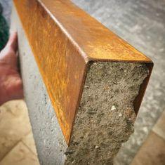 Corten steel cap for tether - Innen Garten - Eng