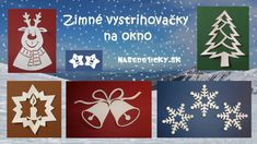 Kategória Vianoce - Page 3 of 6 - Nasedeticky. Christmas Time, Christmas Crafts, Xmas, All Craft, Classroom Decor, Preschool Activities, Advent Calendar, Art For Kids, Garland